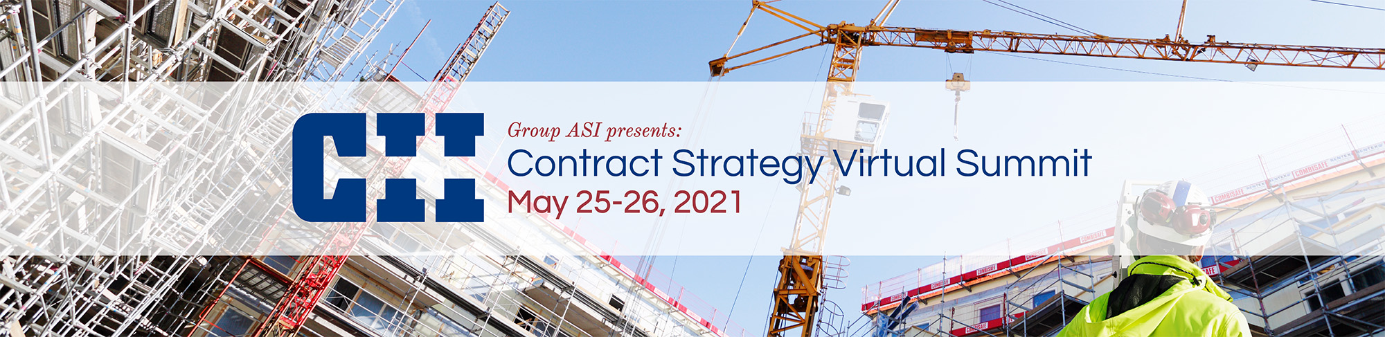 CII Contract Strategy Summit